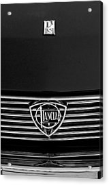 1972 Lancia Fulvia 1.3s S2 Grille Emblem Acrylic Print