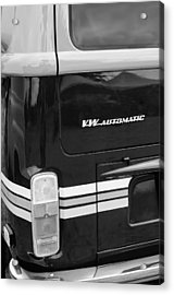 1978 Volkswagen Vw Champagne Edition Bus Taillight Emblem Acrylic Print