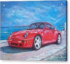 1997 Porsche Carrera S Acrylic Print
