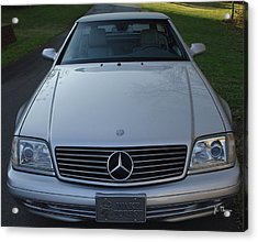 1999 Mercedes Sl500 Acrylic Print