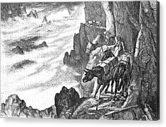 19th Century Smugglers Acrylic Print by Bildagentur-online/tschanz