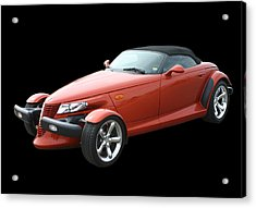 2002 Plymouth Prowler Acrylic Print by Jack Pumphrey