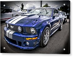 2008 Ford Shelby Mustang With The Roush Stage 2 Package Acrylic Print by Rich Franco