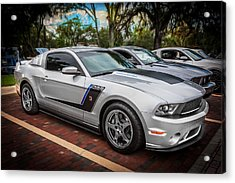 2012 Ford Roush Stage 3 Mustang Rs3 Painted  Acrylic Print by Rich Franco