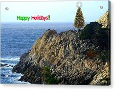 Coastal Holiday Acrylic Print