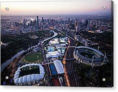 2014 Australian Open Acrylic Print by Brett Price
