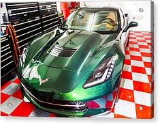 2014 Corvette Acrylic Print