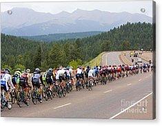 2014 Usa Pro Cycling Challenge Acrylic Print