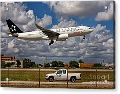Avianca A-330 Airbus  Acrylic Print by Rene Triay Photography