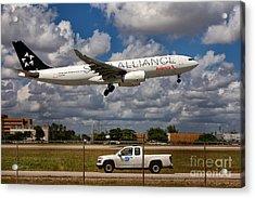 Avianca A-330 Airbus  Acrylic Print