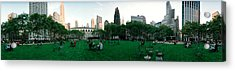 360 Degree View Of A Public Park Acrylic Print