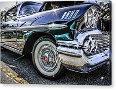 58 Chevy Impala Acrylic Print