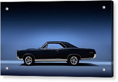 Acrylic Print featuring the digital art 67 Gto by Douglas Pittman