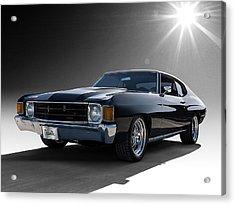 '72 Chevelle Acrylic Print