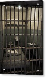 A Cell In Alcatraz Prison Acrylic Print by RicardMN Photography
