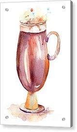 A Cup Of Coffee  Acrylic Print by Regina Jershova