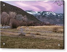 A Favorite Place Acrylic Print by Nancy Marie Ricketts