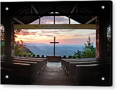 A Good Morning At Pretty Place Acrylic Print by Rob Travis