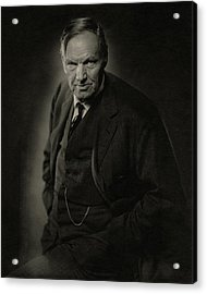 A Portrait Of Clarence Darrow Acrylic Print by Nickolas Muray