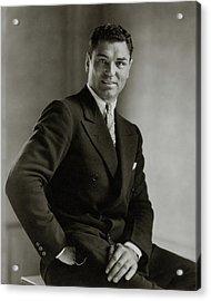 A Portrait Of Jack Dempsey Acrylic Print