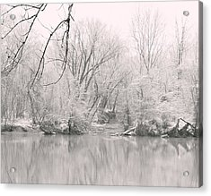 A Whisper Of Snow Acrylic Print