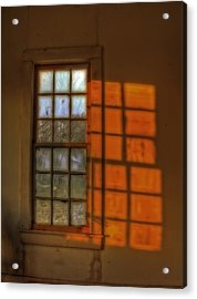 A Window Acrylic Print by Mark Alder