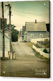 Abandoned Shacks Acrylic Print by Jill Battaglia