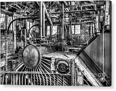 Abandoned Steam Plant Acrylic Print
