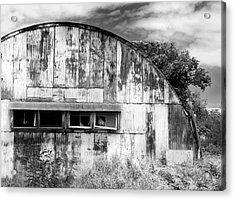 Abandoned Ww2 Quonset Hut Acrylic Print