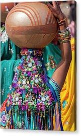 Abhaneri, Rajasthan, India Acrylic Print by Charles O. Cecil