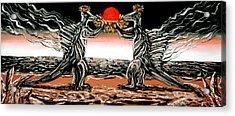 Abiogenic Memetics  Acrylic Print by Ryan Demaree