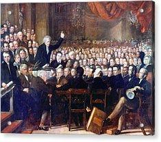Abolition Convention, 1840 Acrylic Print