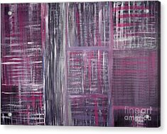Abstract #1 Acrylic Print by Angela Bruno