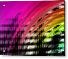 Abstract Background, Vector Without Acrylic Print