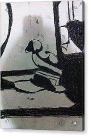 Abstract Drawing Acrylic Print by Khoa Luu