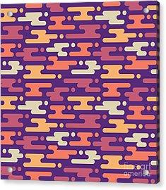 Abstract Geometric Background - Acrylic Print