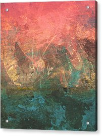 Abstract Print 2 Acrylic Print by Filippo B