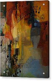 Abstract Tarot Art 013 Acrylic Print by Corporate Art Task Force