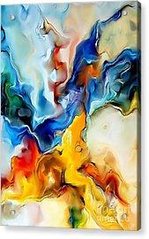 Abstraction 599-11-13 Marucii Acrylic Print