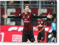 Ac Milan V Juventus Fc - Serie A Acrylic Print by NurPhoto