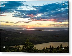 Acadia National Park Sunset  Acrylic Print