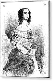 Adele Foucher Hugo (1804-1868) Acrylic Print