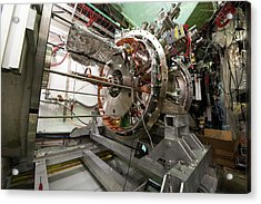 Aegis Experiment At Cern Acrylic Print by Cern/science Photo Library
