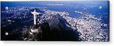 Aerial, Rio De Janeiro, Brazil Acrylic Print