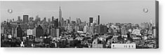 Aerial View Of A City, Manhattan, New Acrylic Print by Panoramic Images