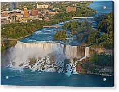 Aerial View On Niagara Falls From Skylon Tower Acrylic Print