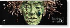 Aestus Rest A Sculpture By Adam Long Acrylic Print by Adam Long