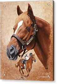 Affirmed Acrylic Print by Pat DeLong