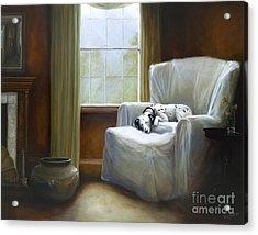 Afternoon Nap Acrylic Print by Stella Violano