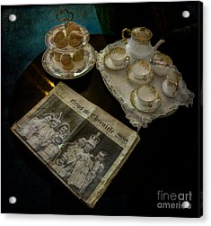 Afternoon Tea Acrylic Print by Adrian Evans